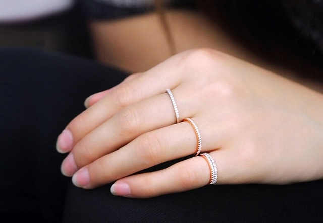 Silver Wedding 925 Sterling Silver Ring