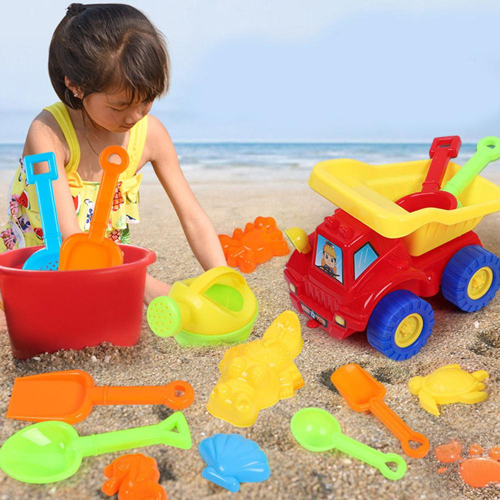 Children Cute Beach Toy Set Digging Sand Shovel Tool Educational Toy For Kids