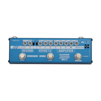 Valeton Dapper Amp Mini MES 6 Versatile Stompbox Effects Strip Bass Electric Guitar Tuner Reverb Amplifier