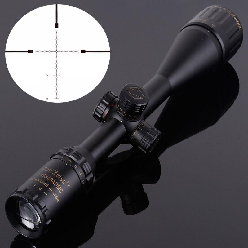 Carl Zeiss 4-16x50 Illuminated Riflescopes Rifle Scope Hunting Scope Free shipping carl zeiss touit 1 8 32