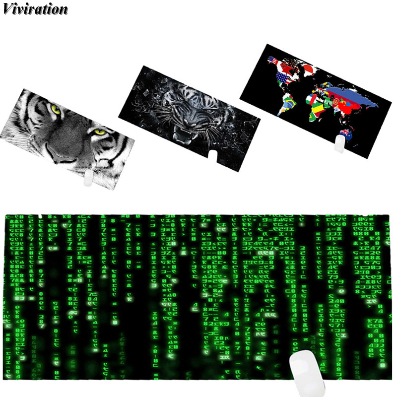 2018 New Arrival Gaming Mouse Pad For League Of Legend Starcraft Viviration 900x400mm XL Rubber Laptop PC Computer Mouse Mat