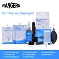 8 в 1 Профессиональный Набор Для Чистки Камеры Pro Набор для Canon Nikon Sony SLR DSLR Цифровой Камеры Объектив ЖК-Экранов RA101