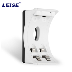 Leise ls u2c white 2 slots smart usb battery charger with led indicator charging for aa.jpg 250x250