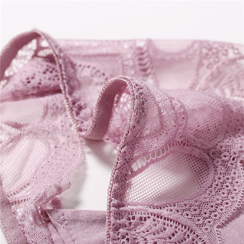 3Pcs Panties Sexy G-String Underwear Lace Briefs For Women Fashion Floral Panty Female Lingerie Low-Rise Brief Ladies Thong L XL 4