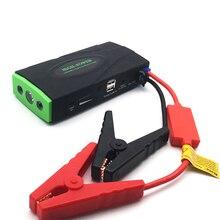 Машина скорой помощи перемычки 38000 мАч пусковое устройство 12 В 600A Портативный автомобиля Зарядное устройство для автомобиля Батарея Booster Diesel Pettrol легче светодиодный