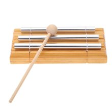 Energy Chime Three Tone with Mallet Exquisite Kid Children Musical Toy Percussion Instrument