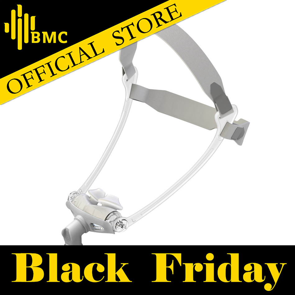 BMC WNP Nasal Pillows CPAP Mask Hot Selling S M L All In Silicone Gel Material
