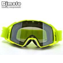 e1b339c534 BJMOTO 2017 Motorcycle Motocross Goggles Anti-distortion DustProof Goggles  Anti Wind Eyewear MX Goggles ATV