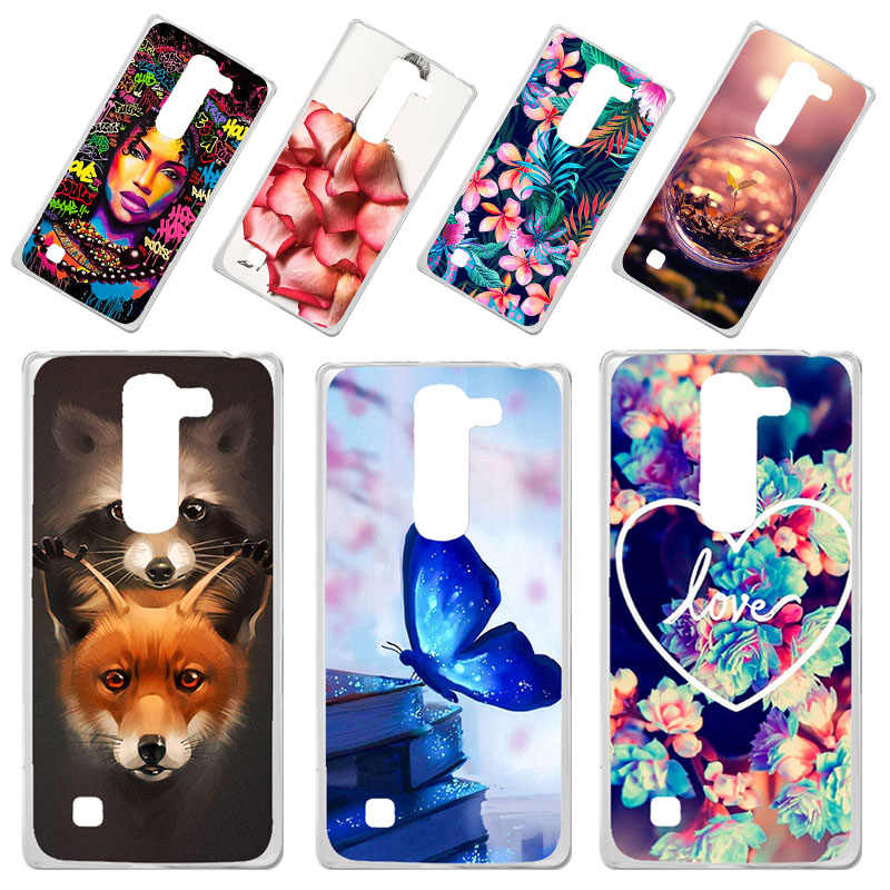 Phone Case For LG Magna Cases Silicone Animal Flower Bumper SFor LG Optimus G4 Mini G4C H525N H520N Cover Fundas Coque Soft TPU
