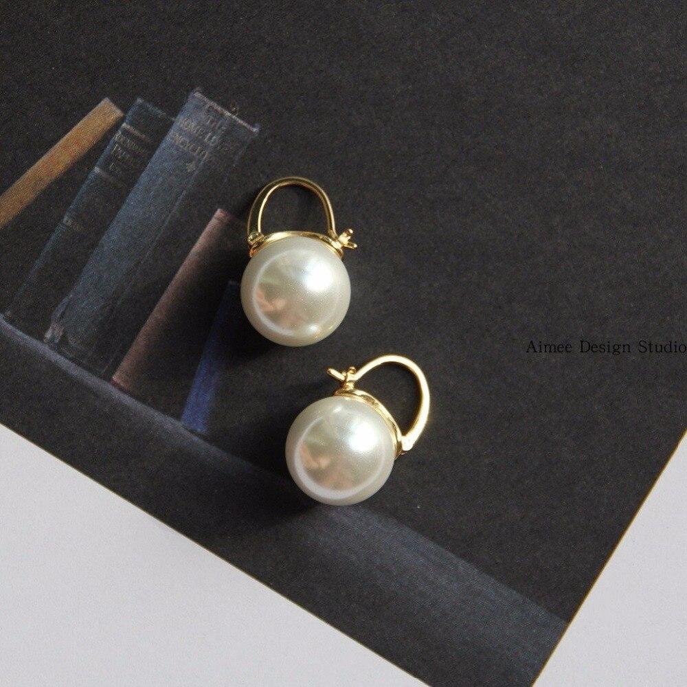 պղնձե հակիրճ բոլոր համամիտ մարգարիտ - Նորաձև զարդեր - Լուսանկար 3