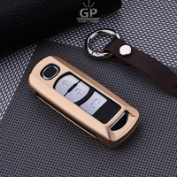 Luxury Aluminium Alloy Car Key Case Fit For Mazda 3 6 2014 M3 M6 Cx3 Cx5