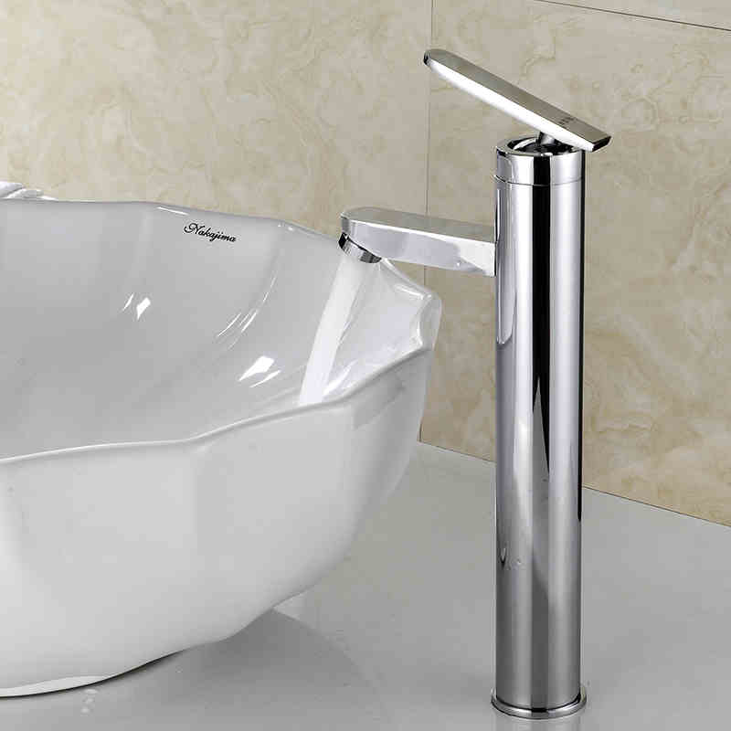 hot sale bathroom vessel sink faucet basin tap faucet hot and cold water mixer chrome single