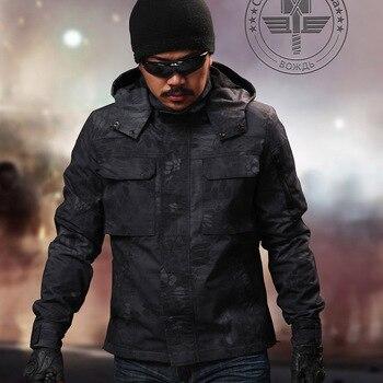Giacche Da Uomo | Tactical Ripstop Camo Hoody Campo Jakcet Jacket Tattico Per Esterno Con Felpa Con Cappuccio