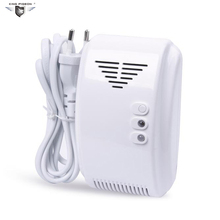 433MHz Kitchen Gas Leakage Detector Alarm Sensor  Emergency alarm for Home Security System GL-100A High Sensitivity