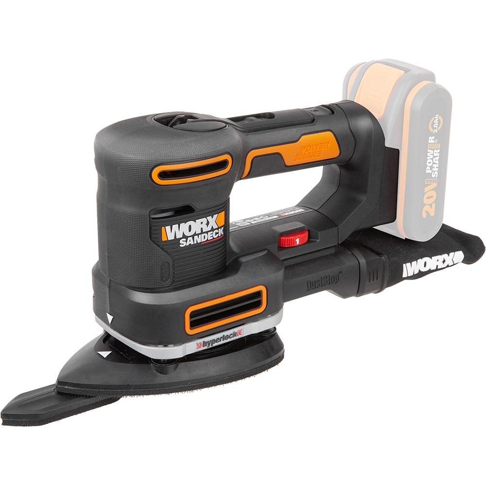 Grinder Worx WX 820,9 schleifen maschine Power Werkzeuge Vibrodrivein akkumulator