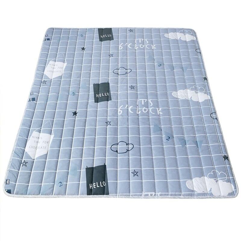 Nouveau 1.5 cm épais bébé tapis de jeu coton enfants ramper couverture tapis bande dessinée Tatami tapis de sol coussin matelas pour enfants chambre