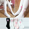 2018 New Children Spring/Autumn Tights Cotton Baby Girls Pantyhose Kids Infant Knitted Collant Tights Soft Infant Clothing