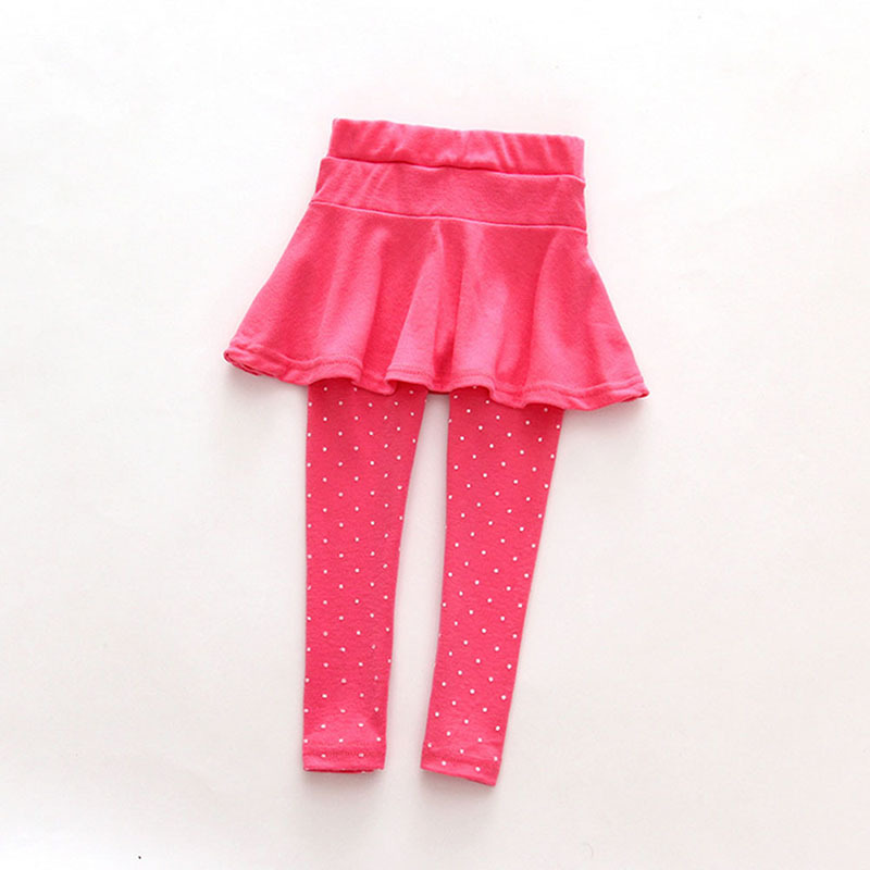Baby Kid Pantskirt Girl Wool Culotte Pants Child Legging Trousers font b Dress b font Hot