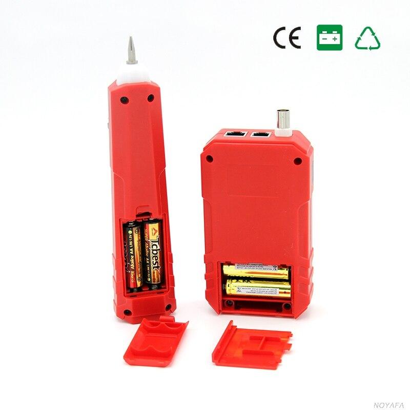 NOYAFA livraison gratuite NF-803A opération simple câble testeur générateur de tonalité pour RJ45 RJ11 BNC - 5