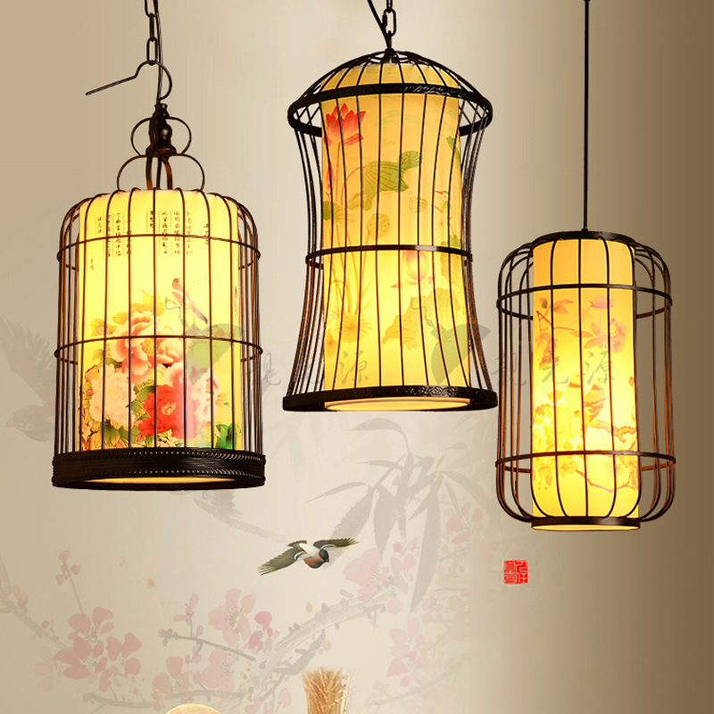 Oriental style pendant lamp retro dining room bar hanging oriental style pendant lamp retro dining room bar hanging chandeliers light lamparas de techo colgante suspended luminaire in pendant lights from lights aloadofball Gallery