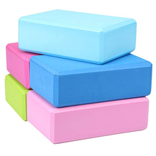 Eco-friendly Eva Foam Brick Yoga Block Dance Practice Provides Stability and Balance Ideal for Exercise, Pilates, Workout