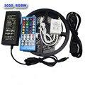 5M 300Leds Flexible Light RGBW 5050 SMD LED Strip RGB+White Diode Tape +RGBW 40key IR Remote+ 12V 6A Power Adapter