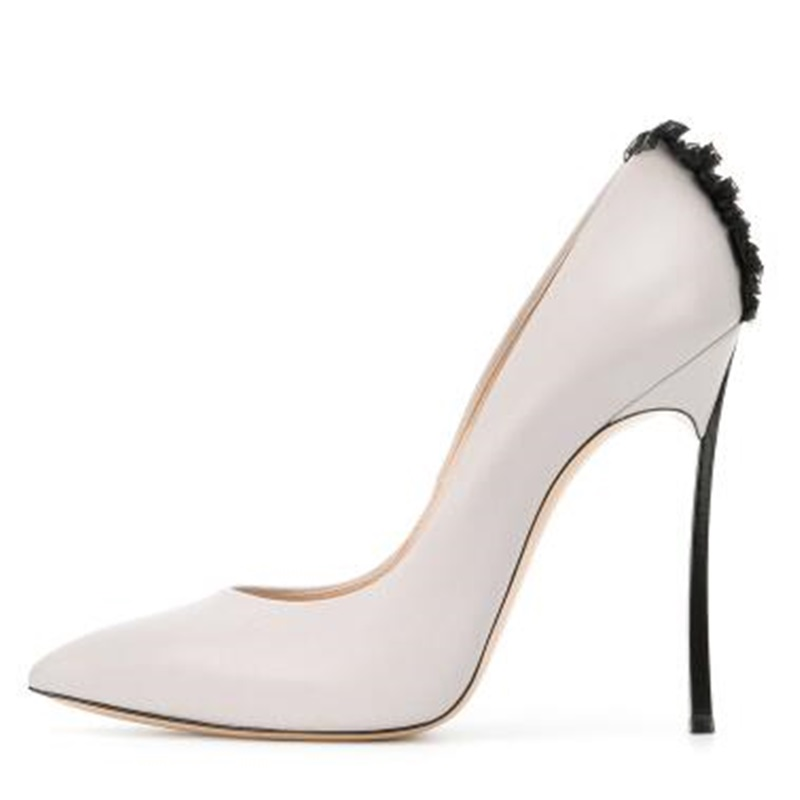 New Spring Thin High Heels Shoes Nude Pointed-toe Sexy Shallow Coloured Slip-on Tassel High Heels Wedding Party Shoes Size 34-43 spring autumn women pumps big size lazy shoes air mesh high thin heels pointed toe casual fashion party sexy slip on shallow