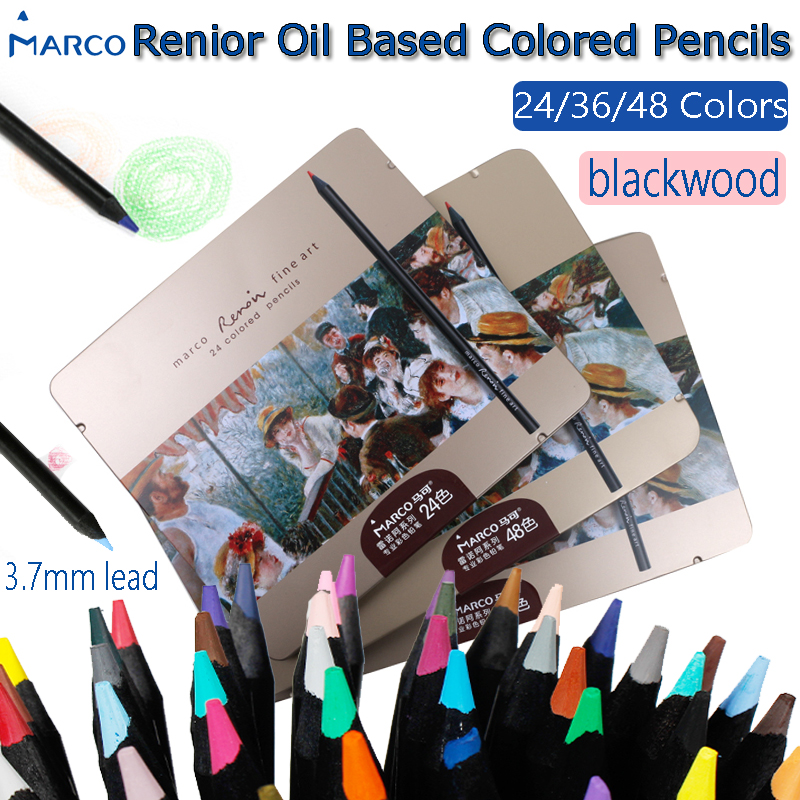 Oil Base drawing professional pencils girls with tin box for book set of pencils for drawing material escolar watercolor pencils цена
