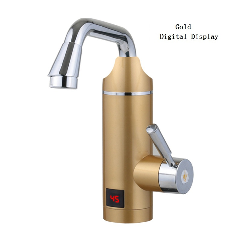 DMWD 3000W Electric Kitchen Water Heater Tap Instant Hot Water Faucet Heater Tankless Instant Water Heater Digital Display 220V household 220v 3000w instant heating electric water heater digital temperature display tankless faucet kitchen bathroom tap