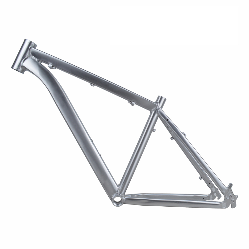 ARTECK 26 inch *17 inch frame high drawing polishing silver mountain bike frame MTB tripod high quality bike frame mtb authentic mosso 630xc aluminium alloy mountain bike 26 16 17 18 inch frame free shipping
