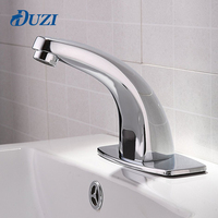 DUZI Water Saving Hot And Cold Automatic Hands Touch Free Sensor Faucet Bathroom Sink Tap Bathroom Faucet For Hotel&HospitalD202