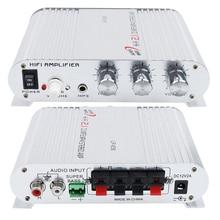 Горячий DC 12 В автомобильный усилитель мощности Hi-Fi MP3 радио аудио стерео бас динамик усилитель плеер аудио усилитель для автомобиля дома
