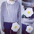Высокое качество Женская Мода Сумочка Сумка Вареные Яйца Дамы Кошелек