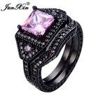 JUNXIN Pink Ring Set...
