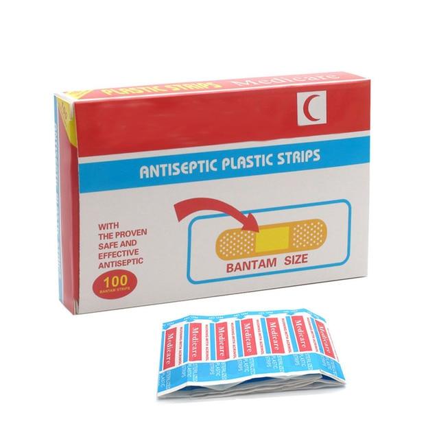 Водонепроницаемый Дышащий Бинты Band Aid Гемостаза Клей Аптечка Медицинская Клей Продукт Здравоохранения Z13701