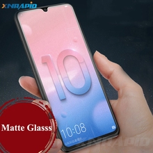 For Huawei Honor 10 Lite/P Smart 2019 Matte Frosted Tempered Glass for P Plus Anti Fingerprints Screen Protector