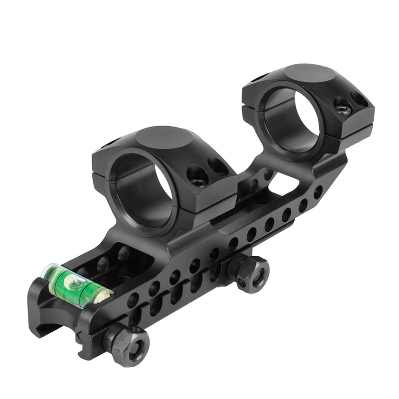 WESTHUNTER 25.4mm/30mm Weaver Rings 20mm Picatinny Rail Optic Scope Mount With Bubble Level Device