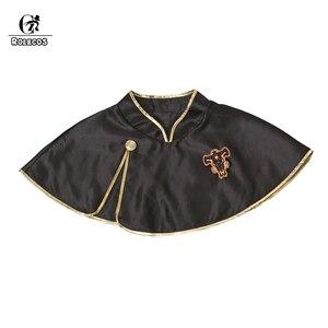 Image 3 - Rolecos黒クローバーアニメコスプレ衣装astaマント黒牛マントfinral roulacaseコスプレ衣装ハロウィーンパーティーのため