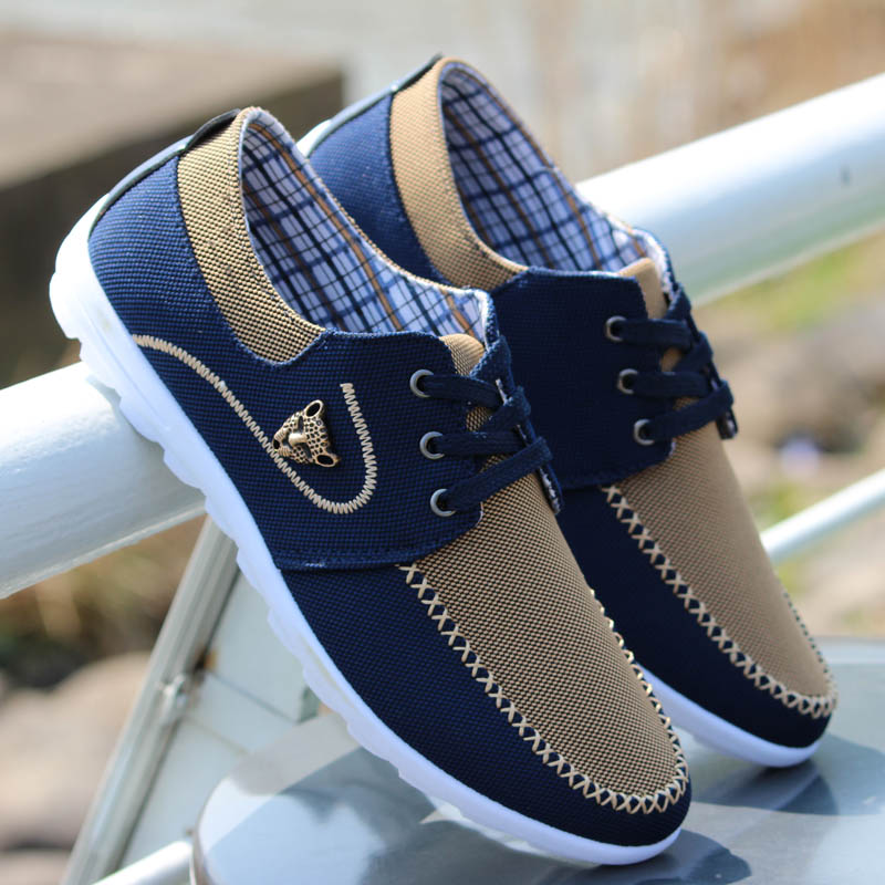 Online Shop Spring Autumn Quality Denim Men Shoes Fashion ...
