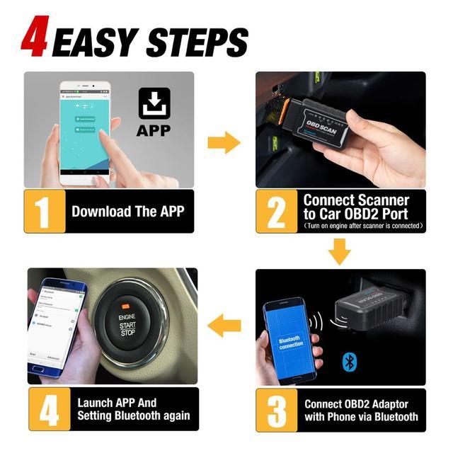 ELM327 V1.5 Wifi/Bluetooth with PIC18F25K80 On Android/IOS Elm 327 code reader OBD II wifi bluetooth Car obd2 Diagnostic tool