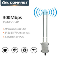 COMFAST WA700 300Mbps Wireless AP Base Station Larger Area Wifi Coverage Outdoor WiFi router/AP Repeater with2*8dBi FRP Antenna