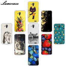 Lamocase Soft Silicone Case For Lenovo Vibe C2 P2 P1M S1 Lite X3 S580 K320T A536 A358T A1010 Cartoon Patterned TPU Phone Cover(China)