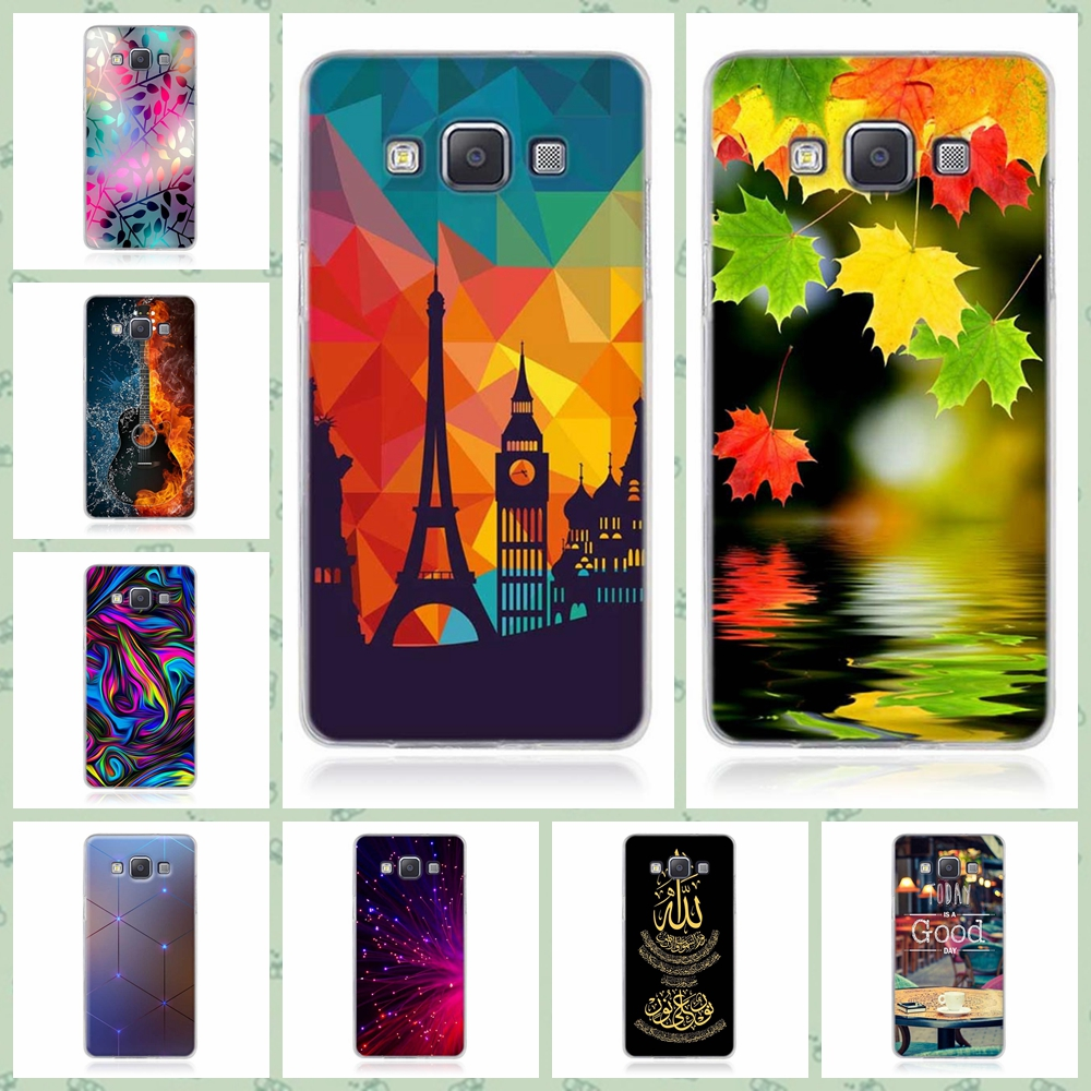 For <font><b>Samsung</b></font> A5 (2015) Case 5.0 inch Cover For <font><b>Samsung</b></font> Galaxy A5 A500F <font><b>A500FU</b></font> TPU Back Cover Painting Skin Phone Cases Bag image