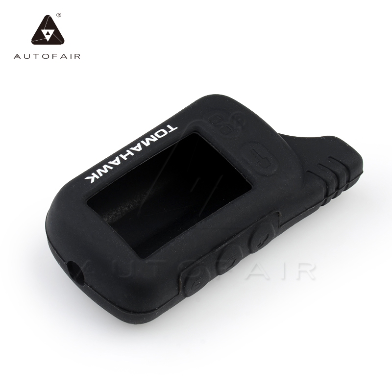 Factory s 2016 Tomahawk black silicone case russian version two way car alarm system TZ9010 - AUTOFAIR Store store