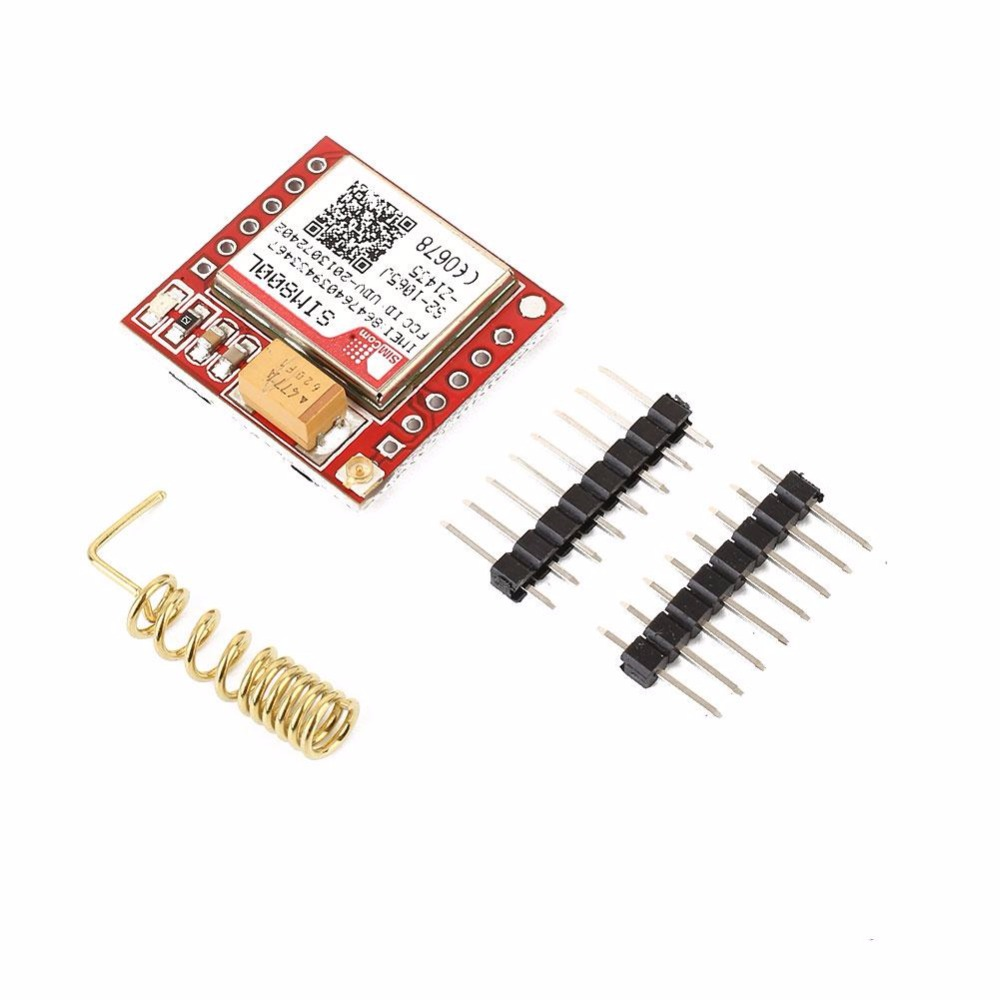 Cewaal New For SIM800L GSM GPRS SMS Module Kit With Antenna For Arduino Support Quad-Band Network DIY Development Board Parts arduino atmega328p gboard 800 direct factory gsm gprs sim800 quad band development board 7v 23v with gsm gprs bt module