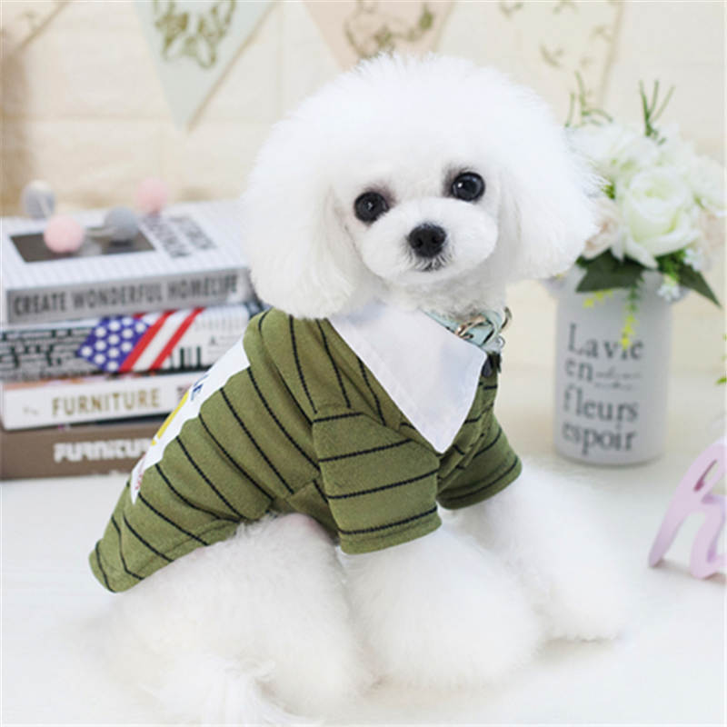 Dog Clothes For Small Dogs Clothing Pet Coat Jacket shirt for cat Spring Clothes For Dog Coat Vest Yorkies Chihuahua Clothes 12 in Dog Coats Jackets from Home Garden