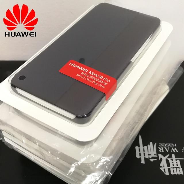 save off cd0d6 1c060 Aliexpress.com : Buy 100% original case for Huawei Mate 10 Pro Flip cover  Smart Wake up/Sleep Window Cover Case For Huawei Mate 10 pro from Reliable  ...