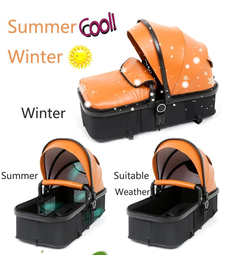 luxury baby stroller 3 in 1 (5)