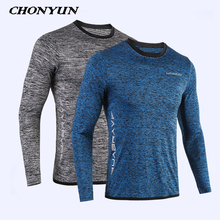 e8a0d093 2019 New Running Shirt Men's Rashgard Long Sleeve Gym Shirt Sportswear  Compression Dry Fit shirts For