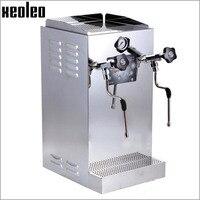 Xeoleo 8.6L молочный шарик машина устройство для кипячения кофе паровой аппарат двойная насадка с бустерным насосом молочная пена машина